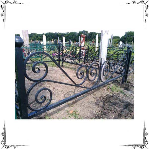 ограда кованая №2